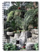 Lovely View Inside The Opryland Hotel In Nashville Tennessee 2009 Spiral Notebook