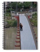 Lovers Between Countries Spiral Notebook