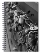 Lovers Crossing Spiral Notebook