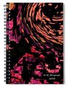 Lovers Swirling Spiral Notebook