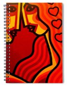Lovers Vi Spiral Notebook