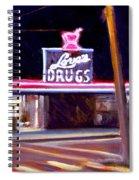 Love's Drugs Spiral Notebook