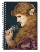 Loves Shadow Spiral Notebook