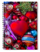 Loving Christmas Spiral Notebook