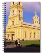 Low Angle View Of A Cathedral, Peter Spiral Notebook