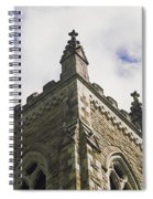 Low Angle View Of A Church, Trinity Spiral Notebook