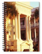 Low Angle View Of Historic Houses Spiral Notebook