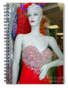Low Cut Lucy Spiral Notebook