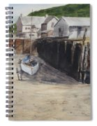 Low Tide At High Noon Spiral Notebook