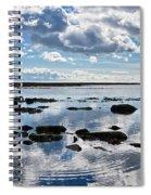 Low Tide At Lyme Regis 2 Spiral Notebook