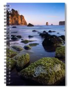 Low Tide At Second Beach Spiral Notebook