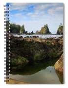 Low Tide At The Arches Spiral Notebook
