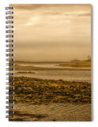 Low Tide Cape Porpoise Maine Spiral Notebook
