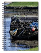 Low Tide Donegal Ireland Spiral Notebook