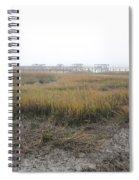 Low Tide Fog Spiral Notebook