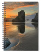 Low Tide Giants Spiral Notebook