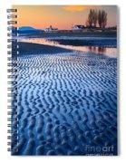 Low Tide In Seattle Spiral Notebook