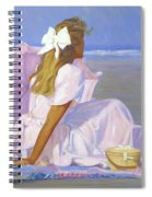 Low Tide Lady Spiral Notebook
