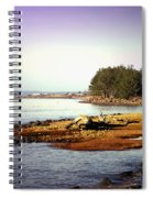 Low Tide Revelations Spiral Notebook
