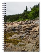 Low Tide - Walking On The Bottom Of Saint Lawrence River Spiral Notebook