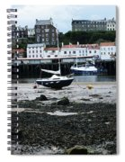Low Tide Whitby Spiral Notebook