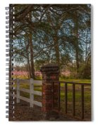 Lowcountry Gates To Boone Hall Plantation Spiral Notebook