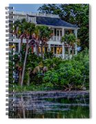 Lowcountry Home On The Wando River Spiral Notebook