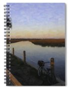 Lowcountry Winter Marsh Spiral Notebook