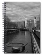 Lowell Ma Architecture Bw Spiral Notebook