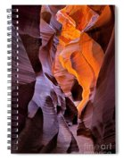 Lower Antelope Glow Spiral Notebook