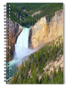 Lower Falls Yellowstone 2 Spiral Notebook