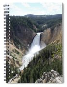 Lower Falls Yellowstone Spiral Notebook