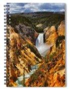 Lower Falls Yellowstone Spiral Notebook