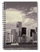 Lower Manhattan Skyline 2 Spiral Notebook