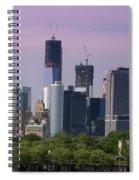 Lower Manhatten Spiral Notebook