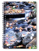 Lower Part Of Munising Falls Spiral Notebook