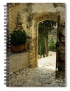 Lower Preveli Monastery Crete 3 Spiral Notebook