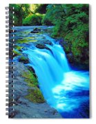 Lower Punchbowl Falls Spiral Notebook