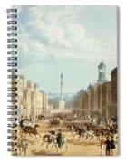 Lower Regent Street, Pub. By Ackermann Spiral Notebook