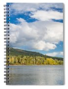 Lower Saint Mary Lake 1 Spiral Notebook