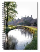 Lower Slaughter Spiral Notebook