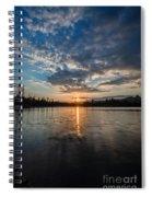 Lower Sunset Lake Spiral Notebook