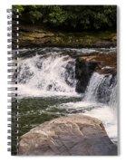Lower Swallow Falls 2 Spiral Notebook