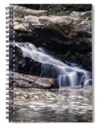 Lower Swallow Falls Stairsteps Spiral Notebook
