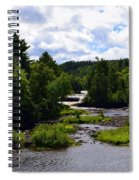 Lower Tahquamenon Falls Ll Spiral Notebook