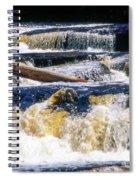 Lower Tequamenon Falls Spiral Notebook
