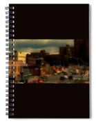 Lowering Clouds Spiral Notebook