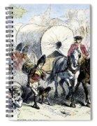 Loyalists & British, 1778 Spiral Notebook