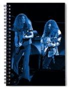 Ls Spo #21 Crop 4 In Blue Spiral Notebook