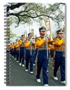 Lsu Marching Band 3 Spiral Notebook